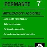 TALLER 7- Movilización y Acciones