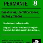 TALLER 8- Desahucios, Identificaciones, Multas y Miedos