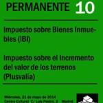 taller 10 IBI y Plusvalía
