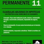 taller 11 Cáusulas Abusivas en Hipotecas