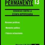 taller 13 Denuncias contra la Estafa Hipotecaria