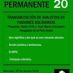 taller 20 Transmutación de Avalistas y Deudores Solidarios