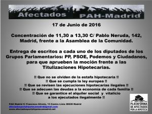 17-6-2016 Asamblea de Madrid