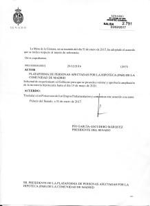 SENADO MORATORIA AL GOBIERNO